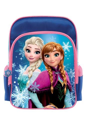 Disney Frozen blue Disney Frozen Elsa Anna Kids Backpack (12-inch) 0B3BAKC501F337GS_1
