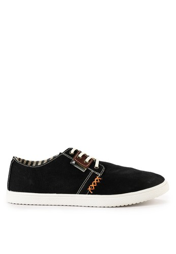 EKYDO black Sepatu Hawick 01 1B861SHB6875D6GS_1
