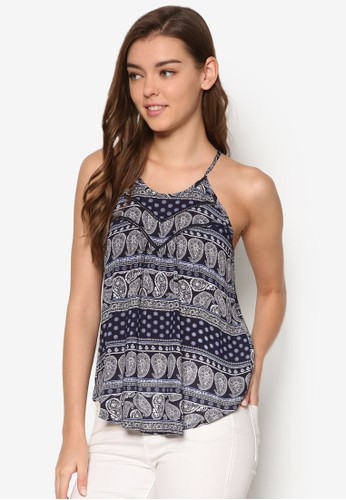 Amber 印花削背背心、 服飾、 T-shirtFactorieAmber印花削背背心最新折價