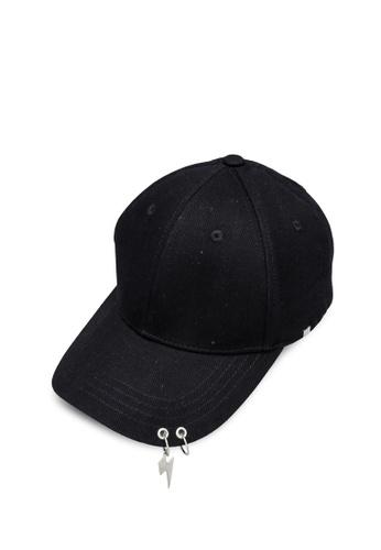 URBAN REVIVO black Fashion Baseball Cap 3ADD0ACFF1678FGS_1