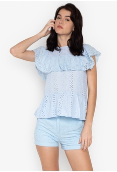 6101de6af44f2d Shop Kamiseta Blouses for Women Online on ZALORA Philippines