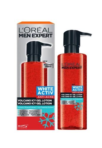 L'Oréal Paris L'Oreal Men Expert White Activ Volcano Icy Gel Lotion 120ml 5F5CBBED36097EGS_1