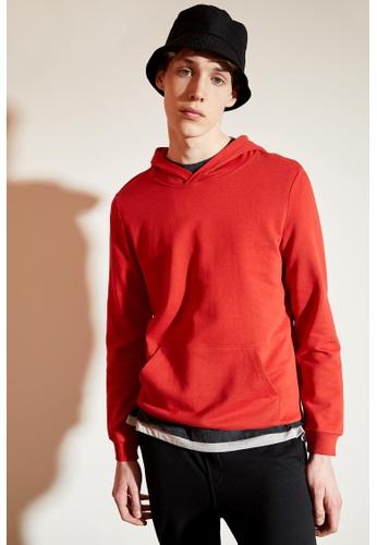 DeFacto red Basic Sweatshirt 86197AA220F843GS_1