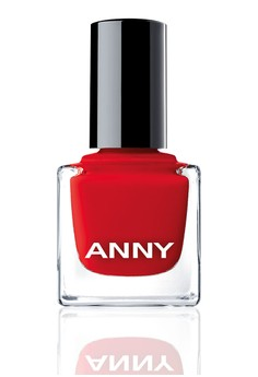 Woman In Red Nail Polish