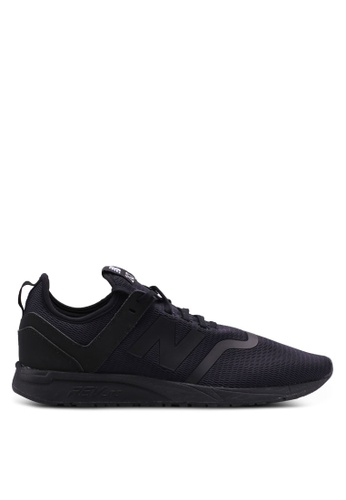 New Balance black 247 Deconstructed Lifestyle Sneakers 91DD9SH2AB8BFCGS_1