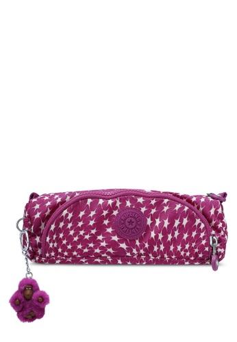 Kipling purple Cute Printed Pencase KI702AC0RN8HMY_1