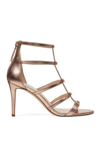 Nine West pink NWNAYLER Strappy Heeled Sandals NI432SH0GZ82SG_1