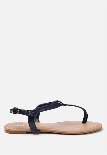 Rubi blue Everyday Aubrey Stud Toe Post Sandals  B9AD4SHE382B0BGS_1