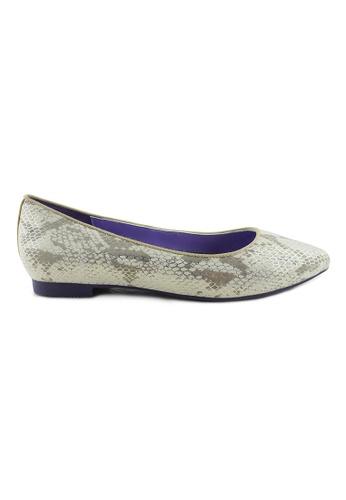 Flatss & Heelss by Rad Russel white Pointed Classic Flats FL655SH78DEFSG_1