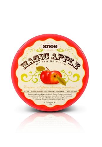 Snoe Beauty red Magic Apple Whitening S-CRUB SN006BE0J99WPH_1