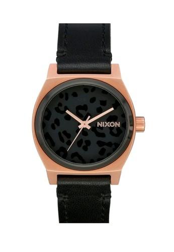 Nixon black MEDIUM TIME TELLER D6441AC4461B0CGS_1