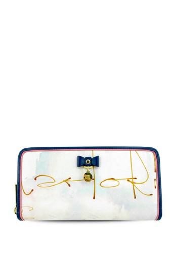 Carlo Rino Zip Arround Wallet