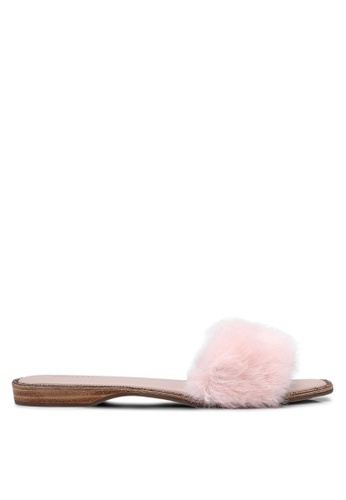 prettyFIT pink Fur Slides C7DB3SH41C64E2GS_1