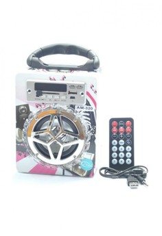 Portable SD/USB Digital Speaker with Wireless Remote Control (AM-320)