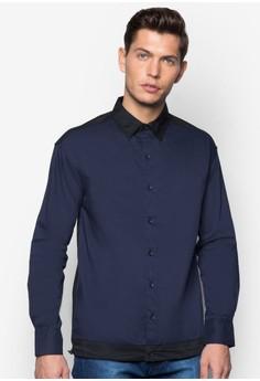 Long Sleeve Shirt With Drawstring Hem