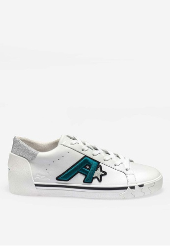 ASH white Next - White Embroidered Patch Low-Top Sneakers C5D56SHC121E97GS_1