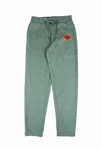 Beverly Hills Polo Club grey BHPC Women Double Knit Graphic Jogger 0FD5CAA918895FGS_1