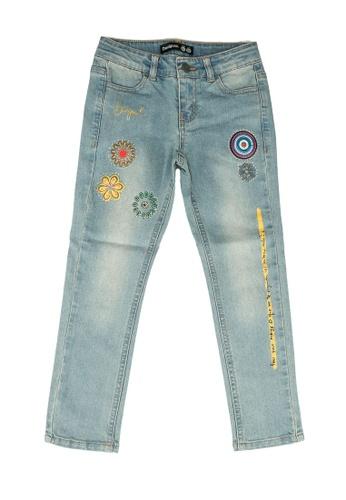 Desigual blue Embroidery Jeans 12731KA098DDFAGS_1