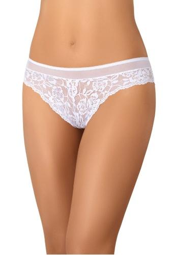 Teyli white Women's Brazilian Lace Panties Lulu 674D2US74E8EADGS_1