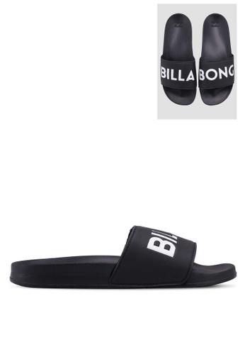 Billabong black Poolslide Sandals ADB0ESH406753FGS_1