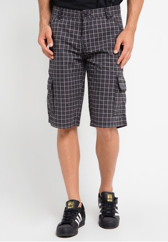 CARVIL grey Bermuda Short Pants CA566AA0URFXID_1
