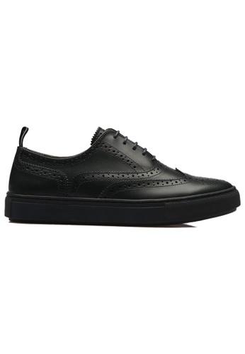 paperplanes black PP2018 Prime Handmade Cowhide Sneakers US Men Size PA355SH52GDFSG_1
