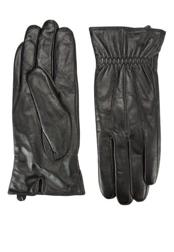彈性esprit outlet hong kong仿皮手套, 飾品配件, 手套