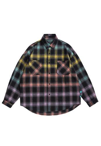 Twenty Eight Shoes Retro Gradient Plaid Shirts 2135W20 60C08AA4B846C1GS_1
