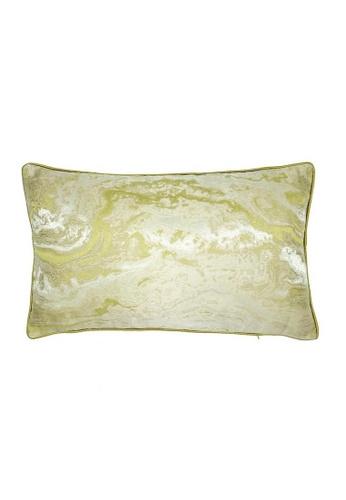 Maison Curio Biacan Long Cushion Lemon 17C3CHL1BF0CA3GS_1