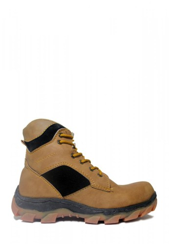 Cut Engineer brown Cut Engineer Safety Boots Steal Composite Soft Brown AD425SH05B17A2GS_1