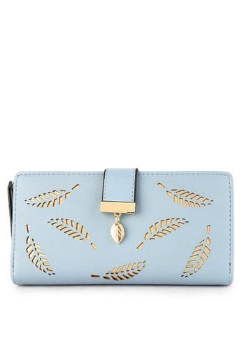 Aamour blue Leaf Wallet E413DAC4D4D91EGS_1
