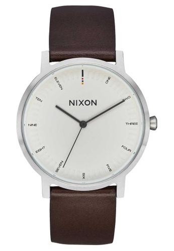 Nixon beige Nixon - Porter Leather Watch - Cream (A1058104) D14C9AC96DEE2CGS_1