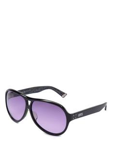 c285256749bb Levi's black Full Rim Plastic Frame Aviator Sunglasses [ LVO2001161DSY ]  LE892GL05JGGPH_1