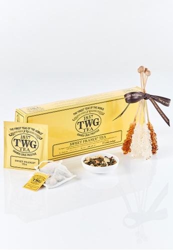 TWG Tea Spa at Home Teabag Kit (Sweet France Tea) 6EB69ESF5A0C09GS_1