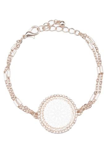 Encrusted Filigree Delicate Bracelet, 飾品配件zalora 男鞋 評價, 飾品配件