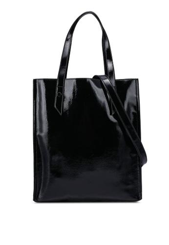 Keddo black Zoey Tote Bag 21D91AC7B85677GS_1