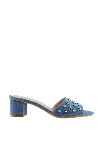 eq:iq blue eqRENEE Jewel Embellished Block Heel Sandals EQ351SH87XSISG_1