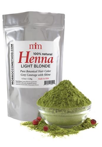 Morrocco Method Henna Hair Dye - Light Blonde BFFAFBE61CBE95GS_1