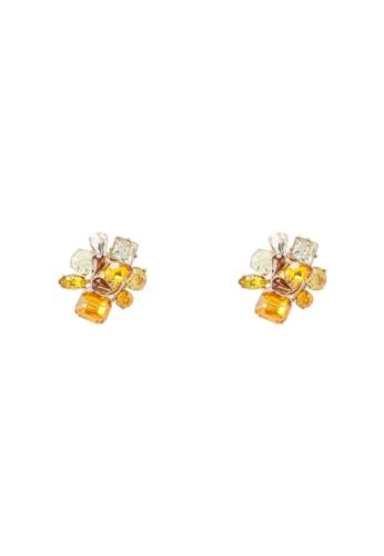 ALDO 黃色 幾何耳環 A5BB6AC1AA0700GS_1