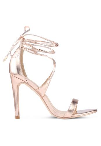 Glamorous 粉紅色 繞帶高跟鞋 41EF5SH7AB9775GS_1