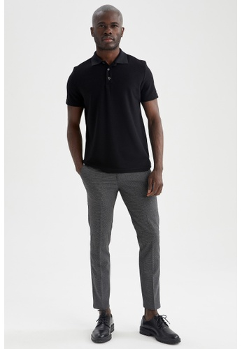 DeFacto grey Tailored Trousers 47CB4AA8F9B648GS_1