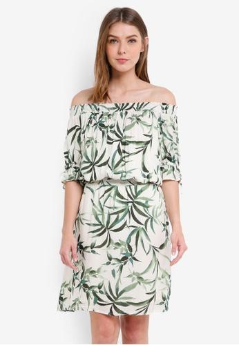 ESPRIT white Light Woven Mini Dress FE7E1AA227E2E1GS_1