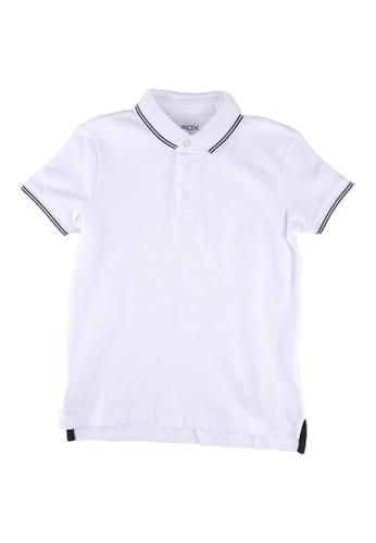 FOX Kids & Baby white Kids Boys Polo Shirt FD9A8KA041548CGS_1