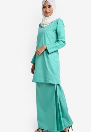 Amar Amran green Baju Kurung Qasidah AM362AA71JXCMY_1