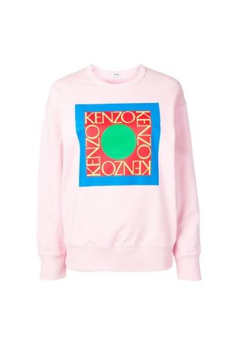 Kenzo pink Kenzo Logo Sweatshirt in Pink 613C5AACE22BC9GS_1