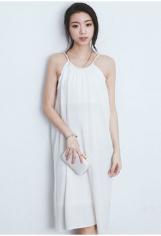 Corded Summer Flimsy Dress
