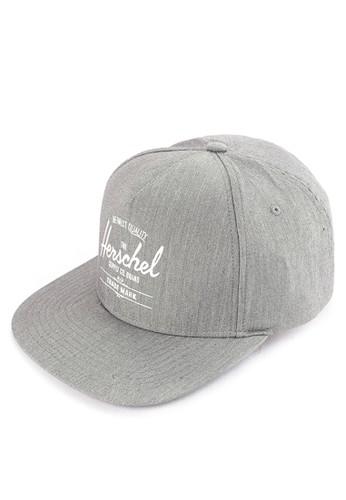 Herschel grey Whaler Cap 4E2F5AC8D09046GS_1