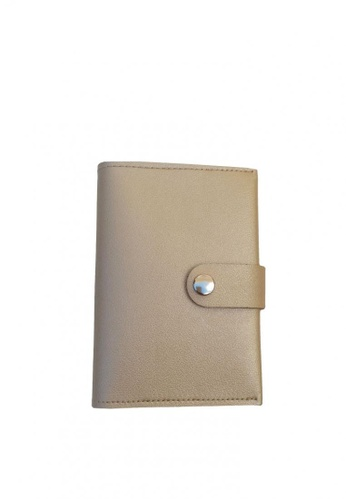 Louiebelle Collection gold Louise Passport Wallet with Lock 49F7AAC7C9AA03GS_1