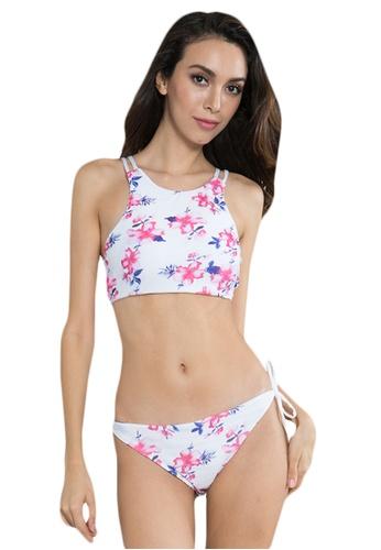 LYCKA white LWD7101-European Style Lady Bikini Set-White 0C56AUS4929AD0GS_1