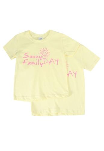 UniqTee yellow Sunny Day Tee 2-Pack 20E26KA57337E0GS_1